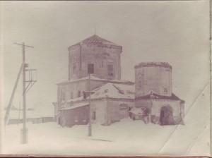 Церковь в Рыбной Слободе - зима 1970 г