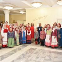 Встреча с Президентом Татарстана